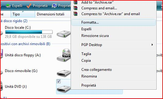 Con l'introduzione del nuovo SP1 è arrivata anche una nuova caratteristica che si può vedere solo con hard disk rimovibili o memory card: è il nuovo filesystem ExFAT (Extended File Allocation Table o anche FAT64) che la Microsoft aveva già introdotto nel 2006 nel suo Windows CE 6.0, e che ora troviamo sia in Windows Vista SP1 che in Windows […]
