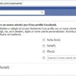 facebook indirizzo personalizzato