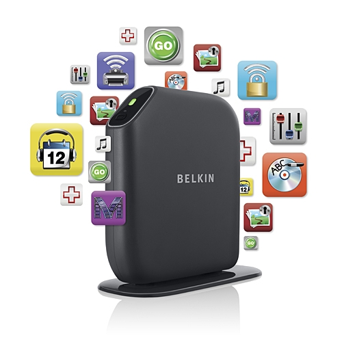 Belkin Play Max Modem-Router