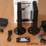 WiFi Video Sender e Receiver iTrio 4Geek, la confezione