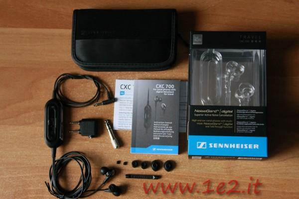 Sennheiser CXC 700 contenuto confezione